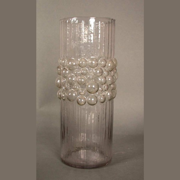 Design glass vase. 1970