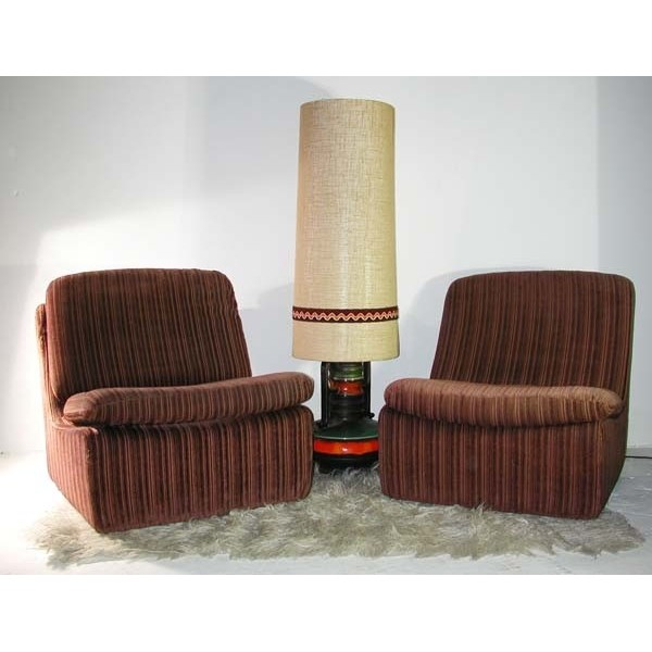 Vintage. Two Easychairs...