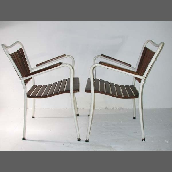 Vintage. Two Garden Chairs....
