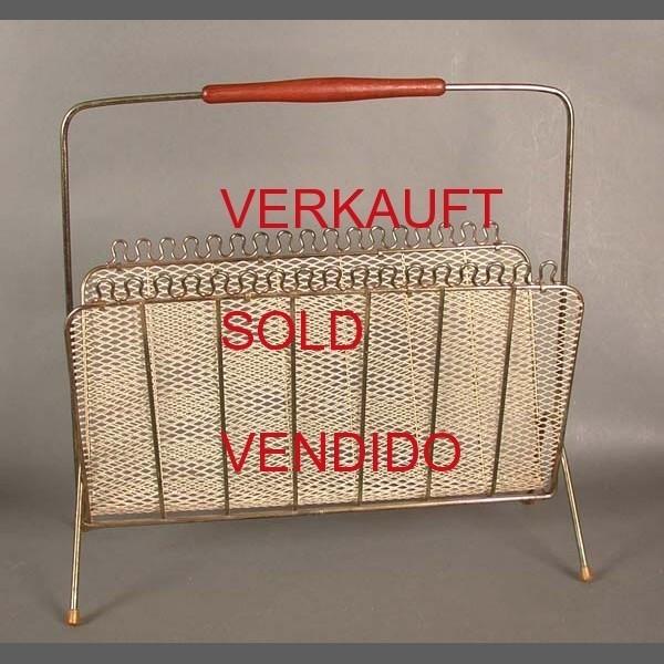 Vintage Zeitungsständer 50er.