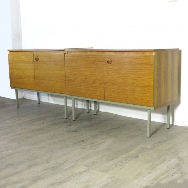 Two small sideboards in the...