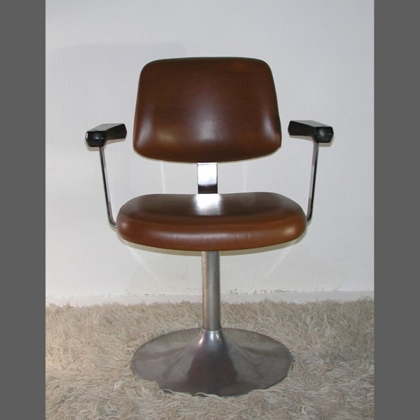 Barber chair faux leather...