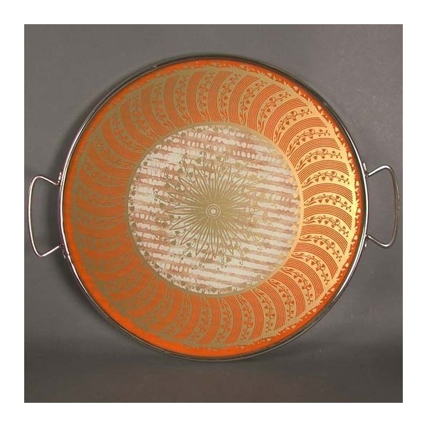 Vintage Glas Tortenplatte...