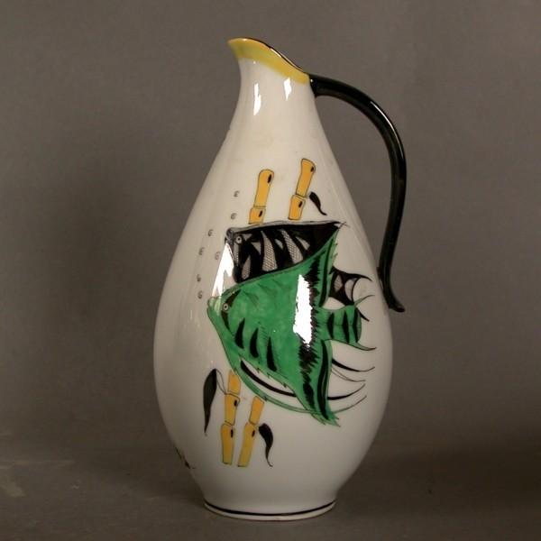 Porcelain vase, Ilmenau...