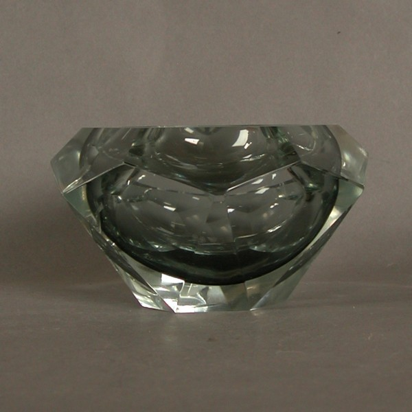 Glass Ashtray Art Deco