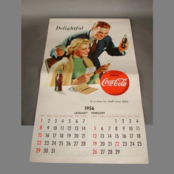 Original calendar. Coca...