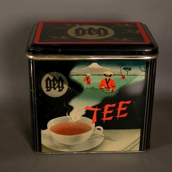 "Advertising tin 1950. ""Tee"""