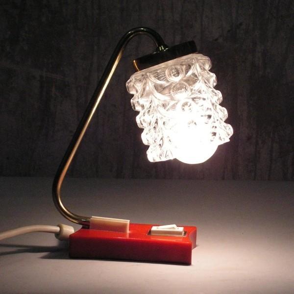 Small tablelamp. 1970 - 1975.