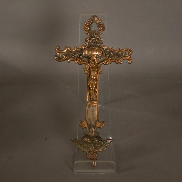 Crucifijo rococó. 1700 - 1730.