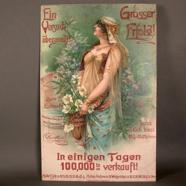 Art Nouveau. Advertising...