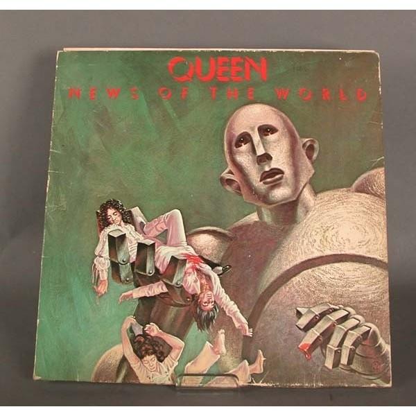 LP. Vinyl. Queen – News of...
