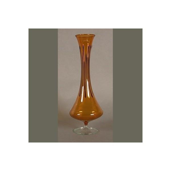 Bohemia. Glass vase in...