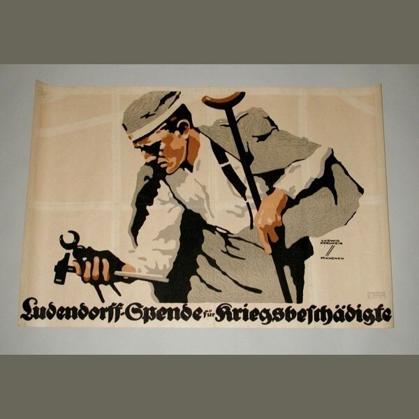 Cartel original de Ludwig...