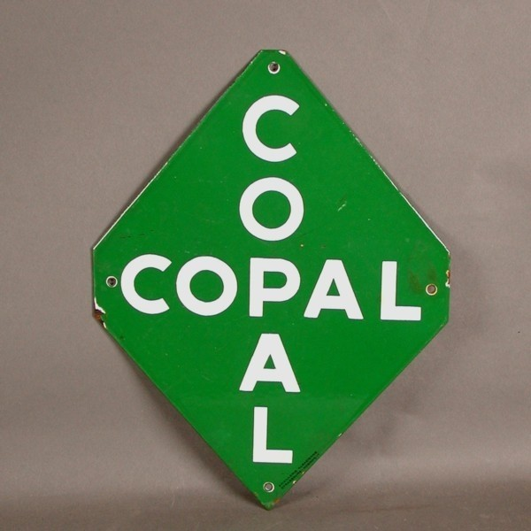 Advertising sign. COPAL -...