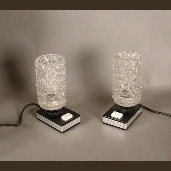 Vintage. Two bedside lamps....