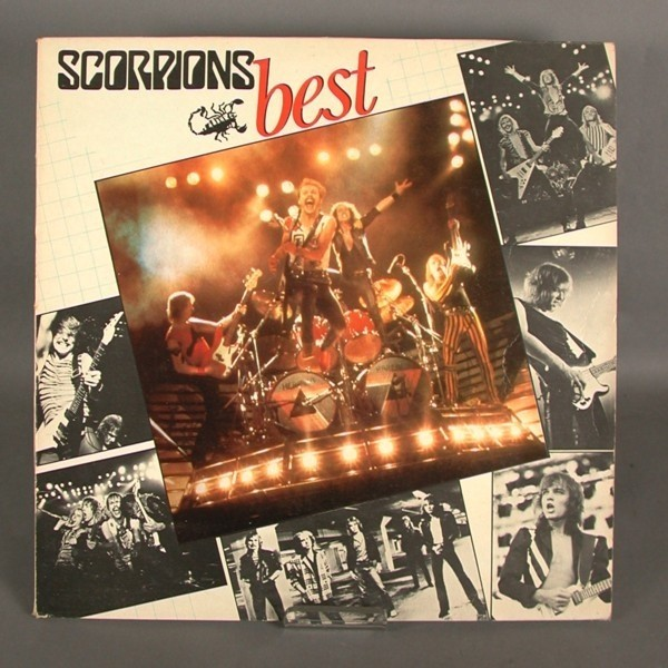 LP. Scorpions - Best. 1985.