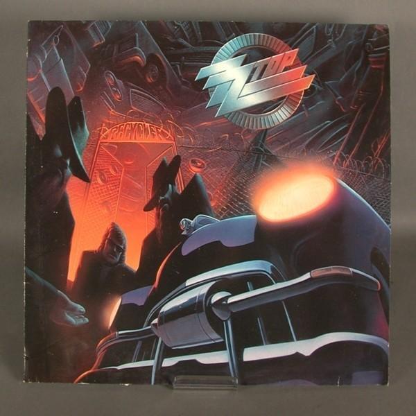 LP. Z.Z.Top - Recycler. 1990.