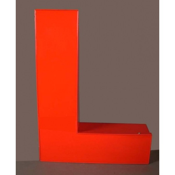 Big vintage sign letter - L...