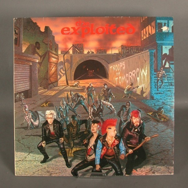 LP. The Exploited - Troops...