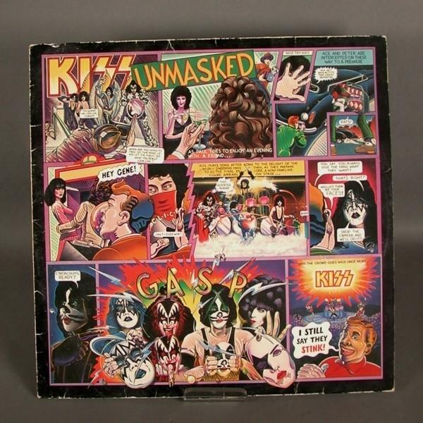LP. Disco de vinilo. KISS -...