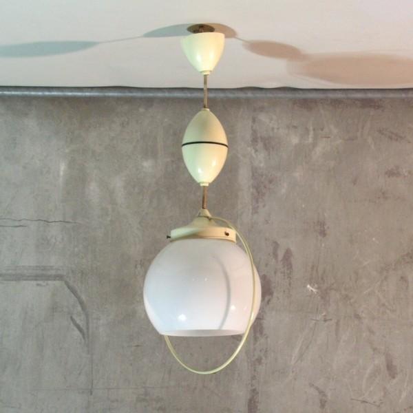 Vintage ceiling lamp. Space...