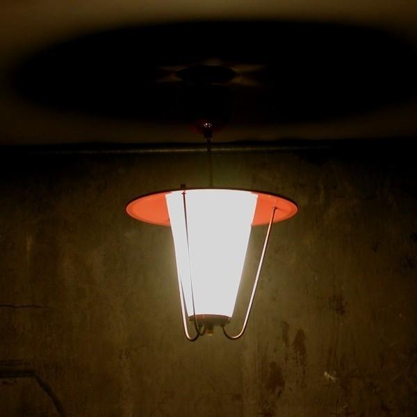Vintage. Ceiling lamp. 1950...