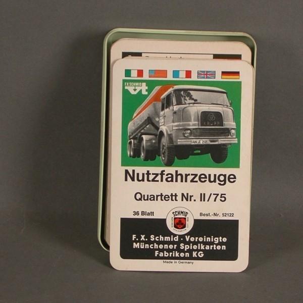 Karten Quartett 1975....