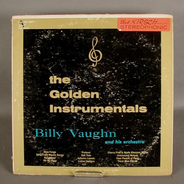 LP. Vinyl. Billy Vaughn -...