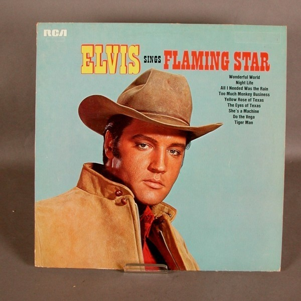 LP. Elvis Presley - Flaming...
