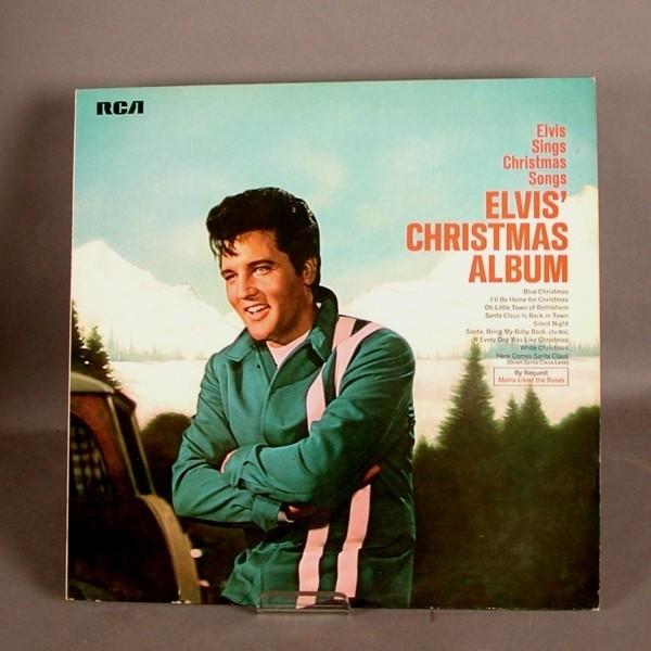 LP. Disco de vinilo. Elvis...