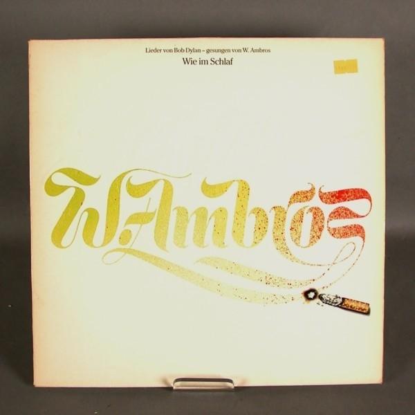 LP. Vinyl. W.Ambros - Wie...