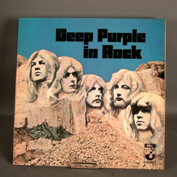 LP. Vinyl. Deep Purple - in...