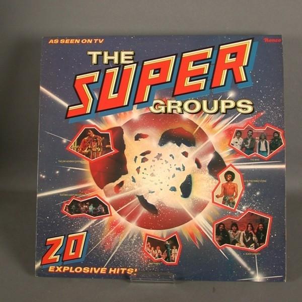 LP. Vinyl. Supergroups. 1977.