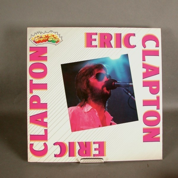 LP. Vinyl. Eric Clapton.