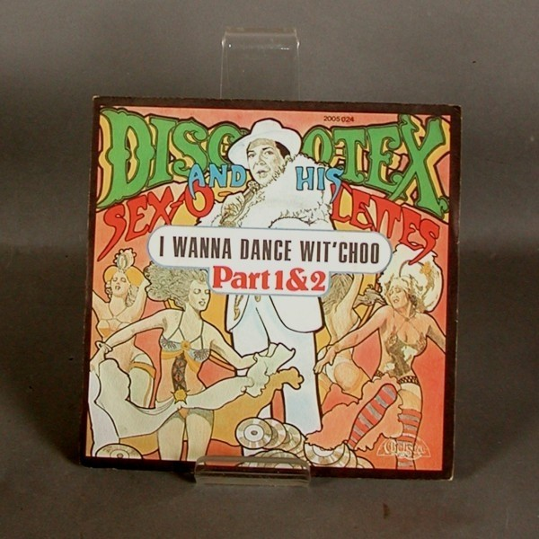 Single. Vinyl. Disco Tex -...