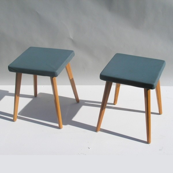 Two vintage stool. Germany...