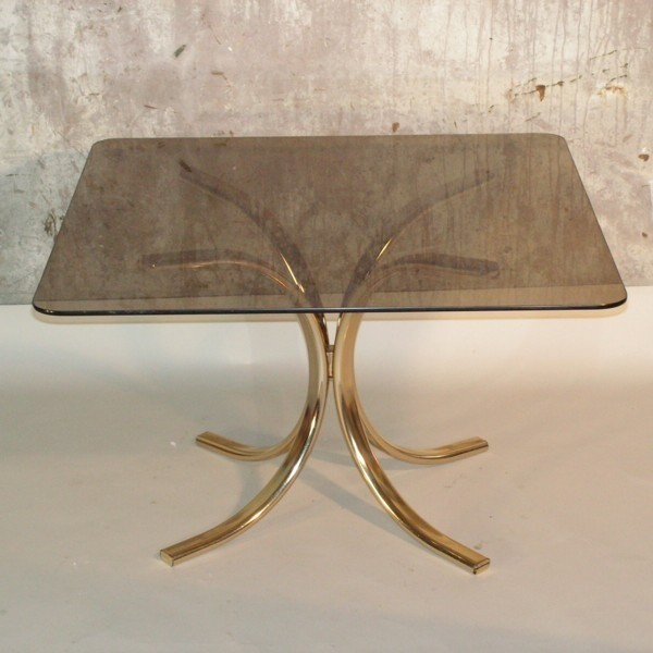 Design. Table with metal...