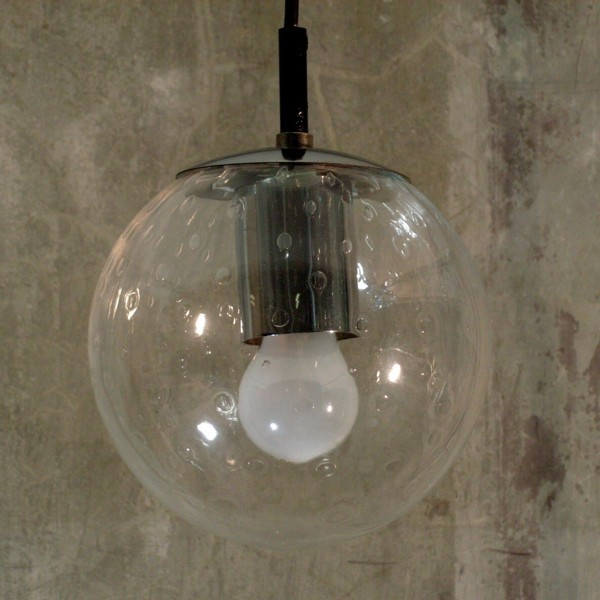 Design. Ceiling glass globe...