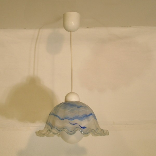 Ceiling glass lamp by...