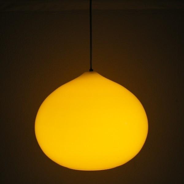 Design. Yellow ceiling...