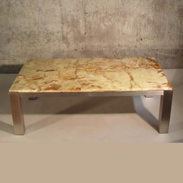 Vintage. Aluminum table...