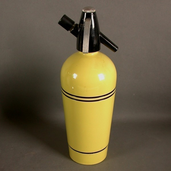 Vintage. Yellow siphon from...