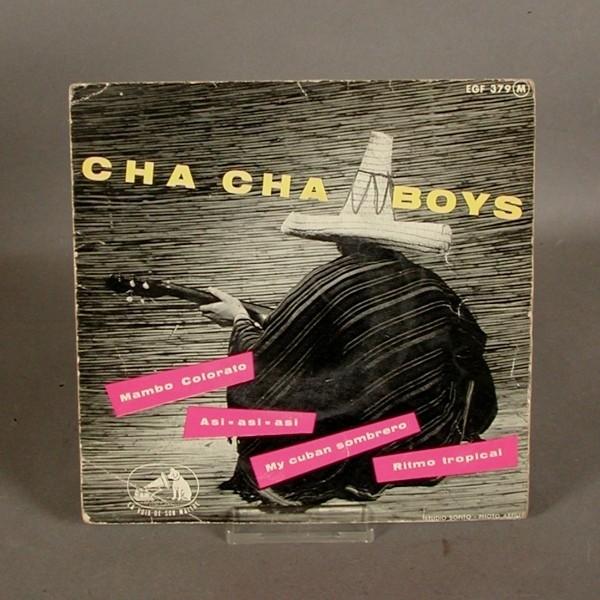 EP. Vinyl. The Cha Cha Boys.