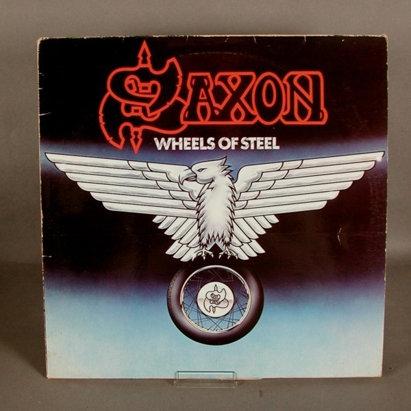 LP. Vinyl. Saxon - Wheels...