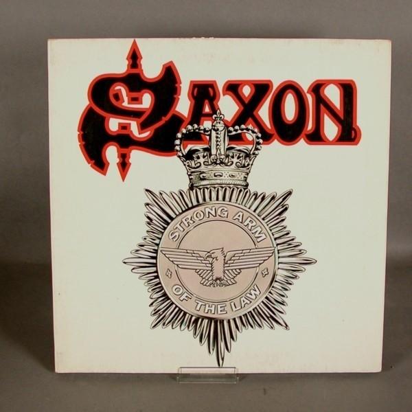LP. Vinyl. Saxon - Strong...