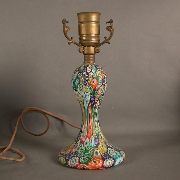 Lamp stand. Millefiori...