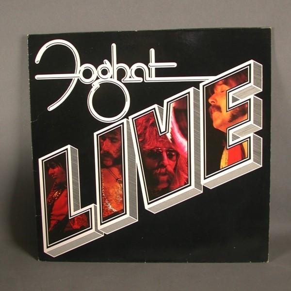 LP. Vinyl. Foghat - Live....
