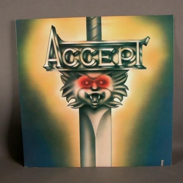 LP. Vinyl. ACCEPT. 1980.