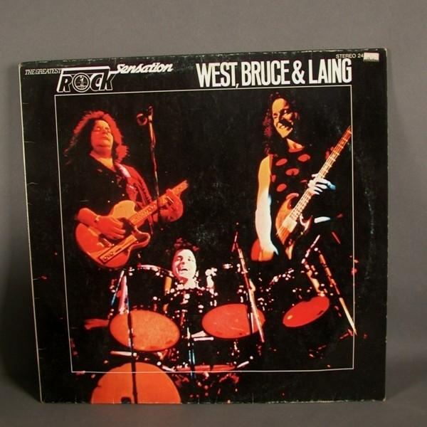 LP. Vinyl. West, Bruce &...