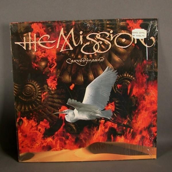 LP. The Mission - Carve. 1990.